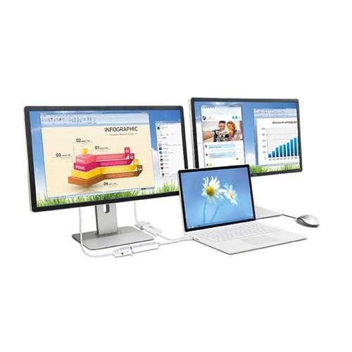 ADAPTATEUR DISPLAY USB 3.0 VERS VGA MULTI ECRANS PC & MAC jua2144