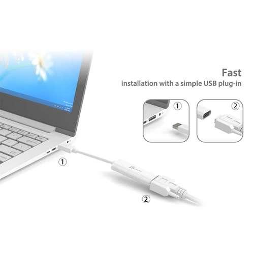 ADAPTATEUR DISPLAY USB 3.0 VERS VGA MULTI ECRANS PC & MAC jua2146