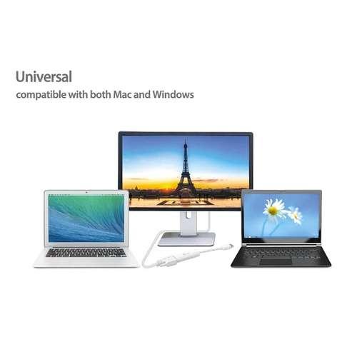 ADAPTATEUR DISPLAY USB 3.0 VERS VGA MULTI ECRANS PC & MAC jua2147