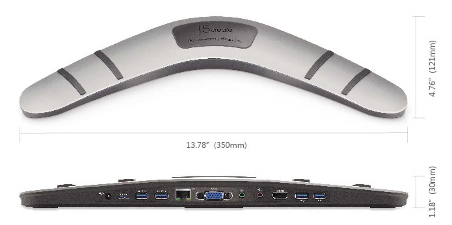 STATION D''ACCUEIL BOOMERANG USB MULTIPORTS V2 jud4813
