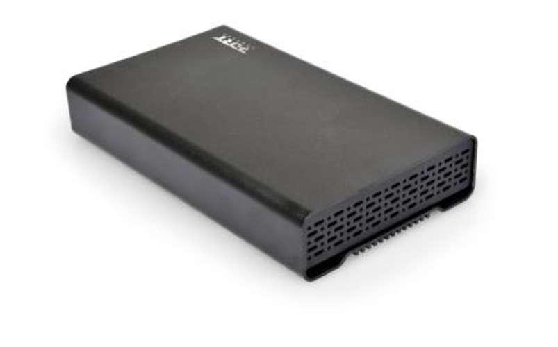 """BOITIER EXTERNE POUR HDD 3.5"""" SATA III ET IDE NOIR USB3.0 0"""