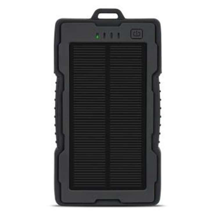 CHARGEUR DE POCHE SOLAIRE ANTICHOC 13000MAH USB + LIGHTNING 0