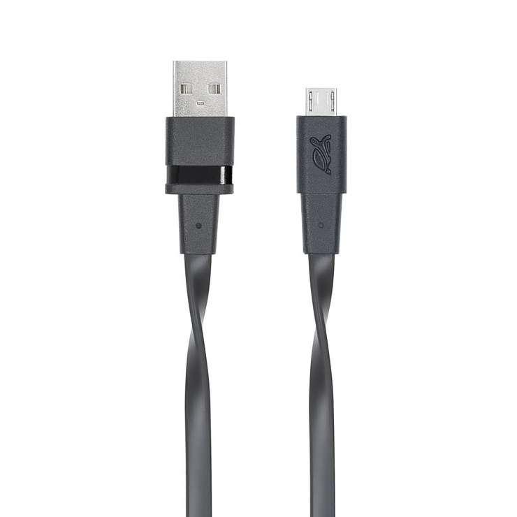 CORDON SYNCHRO + CHARGE MICRO USB 1.2M NOIR 0