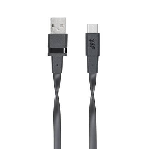 CORDON SYNCHRO + CHARGE USB TYPE C 3.0 1.2M NOIR 0
