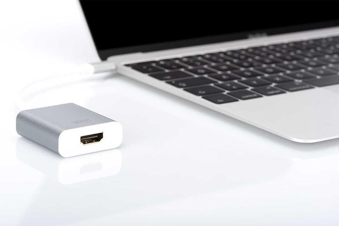 ADAPTATEUR USB DIGITUS - HDMI 4K USB 3.0 TYPE C da708362