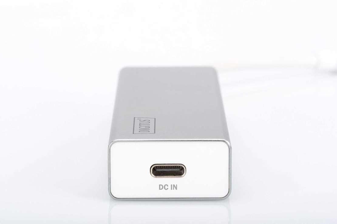 HUB 3 PORTS USB 3.0 SORTIE USB TYPE C ALU AUTOALIMENTE da702423