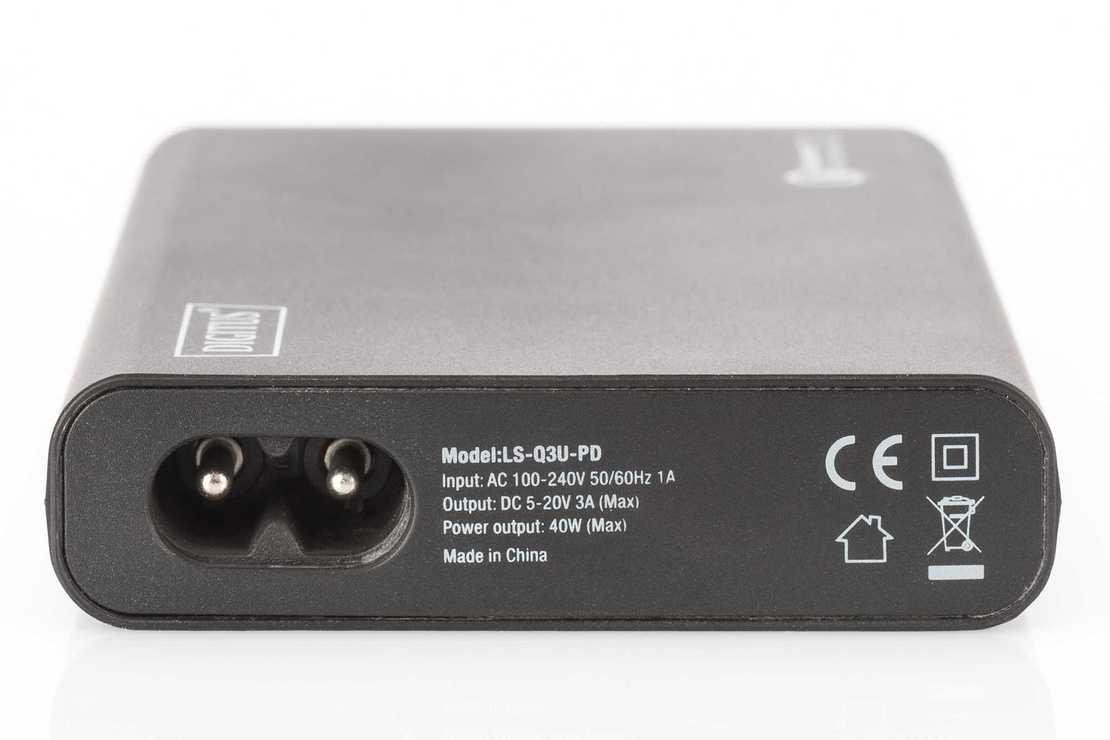ALIMENTATION UNIVERSELLE 40 WATTS 1 X USB TYPE C - 2X USB QUALCOM da101942