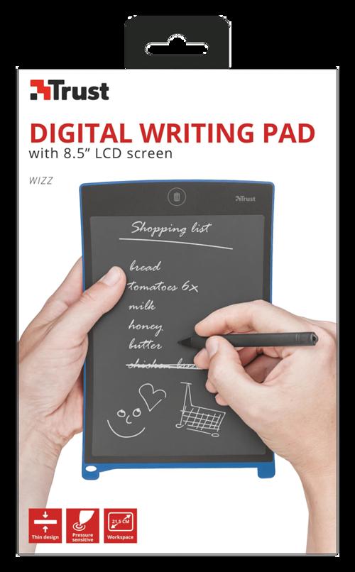 BLOC NOTE NUMERIQUE WIZZ DIGITAL WRITING PAD ECRAN 8.5'''' LCD tr223574