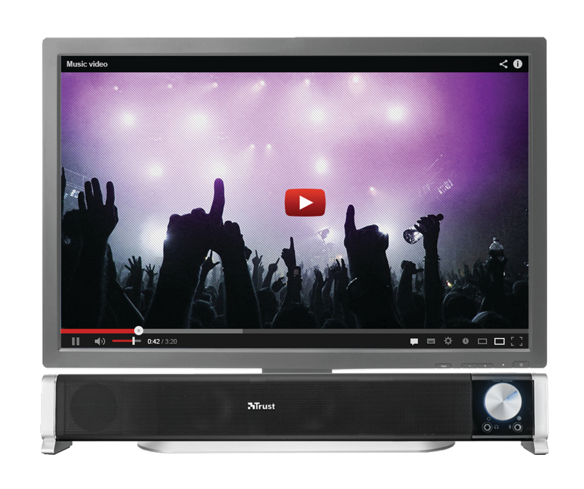 Barre De Son Aslo Soundbar Pc Amp Tv Puissance 6 Watts Rms Noriak