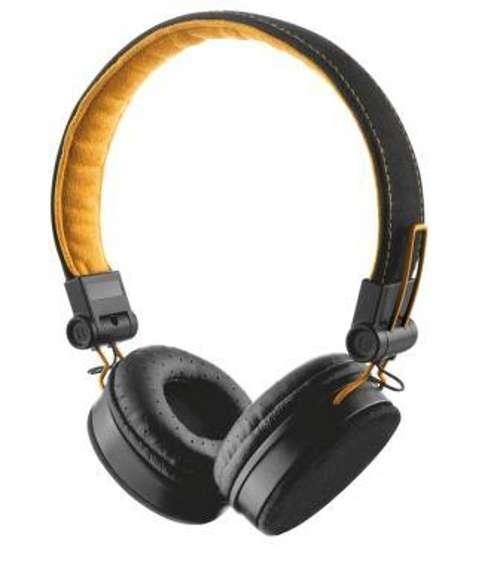 CASQUE AUDIO FYBER POUR SMARTPHONE NOIR / ORANGE 0