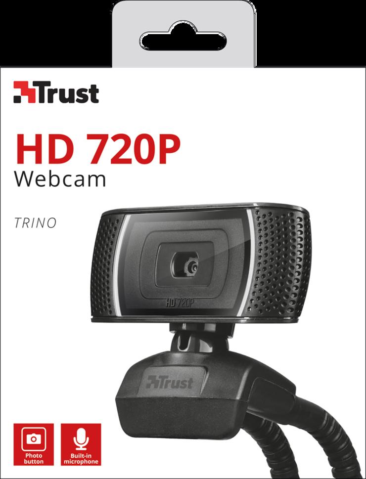 CAMERA TRINO 1.0 MPIXELS HD VIDEO NOIR tr186793