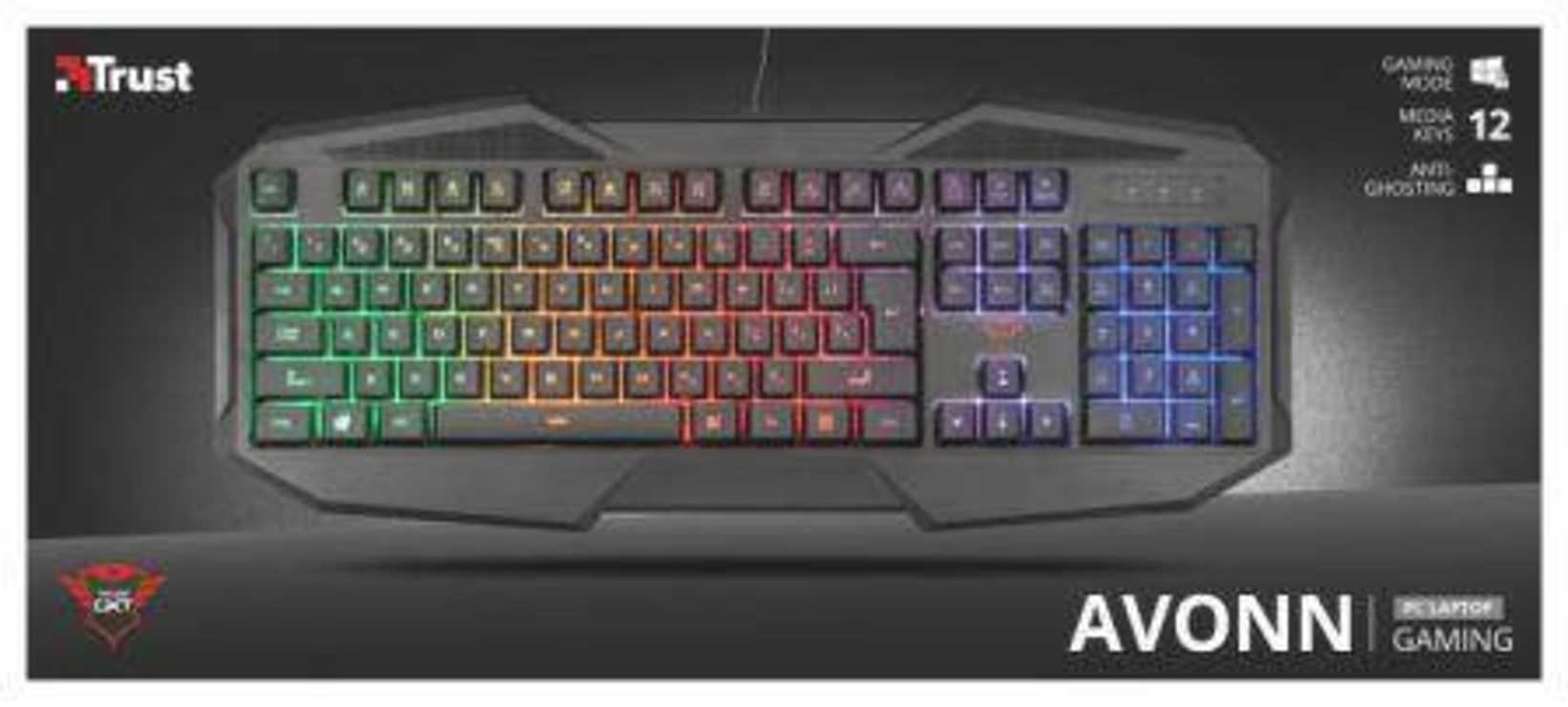 CLAVIER GAMING GXT-830 RETRO ECLAIRAGE tr22281-3small
