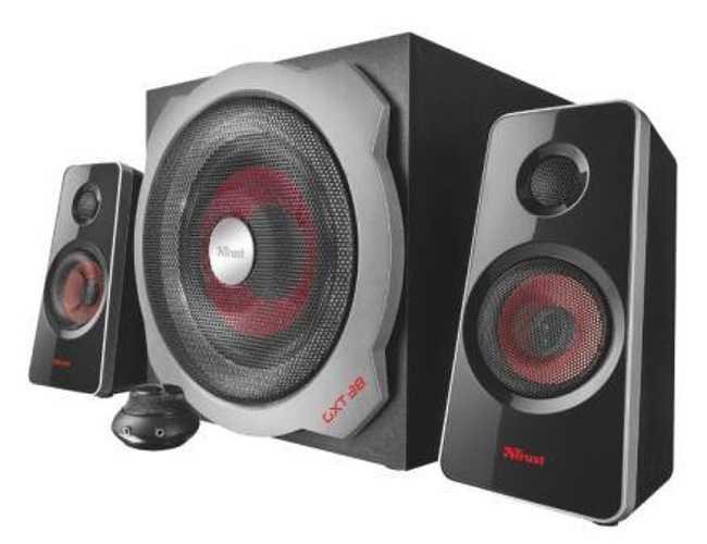 hauts parleurs gxt-38 systeme 2.1 gamer 60 watts rms - noriak