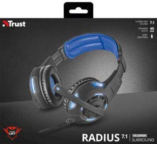 CASQUE + MICRO GAMER GXT-350 RADIUS 7.1  tr22052-4small