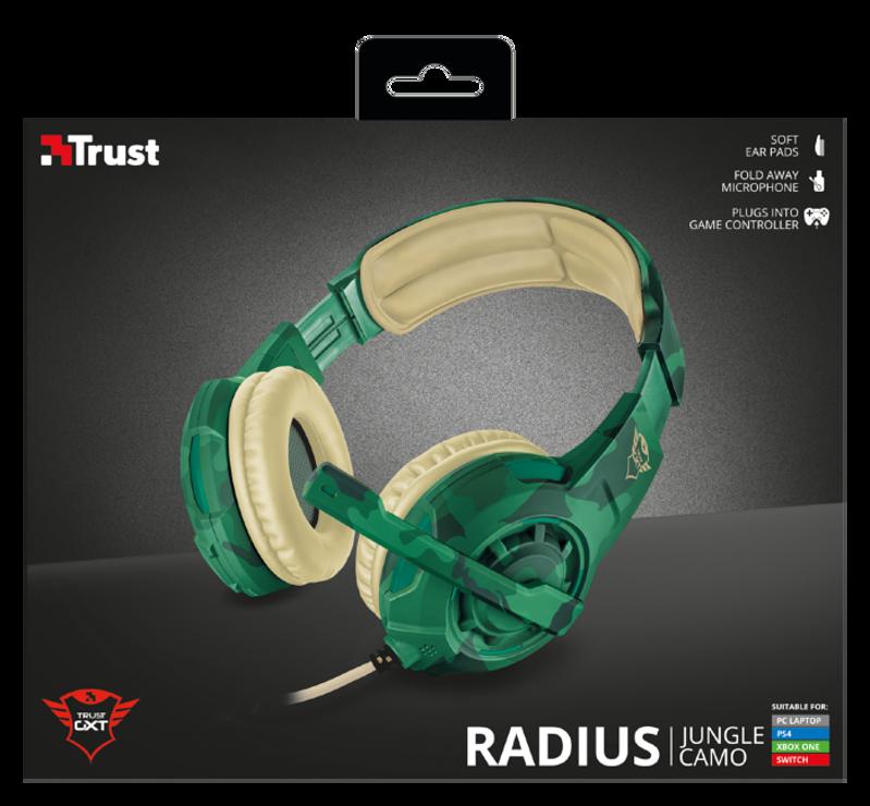 CASQUE + MICRO GAMER GXT-310C RADIUS JUNGLE tr22207-5