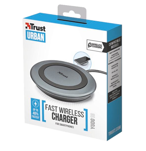CHARGEUR A INDUCTION YUDO10 QI QUICHARGE 2.0 tr223624
