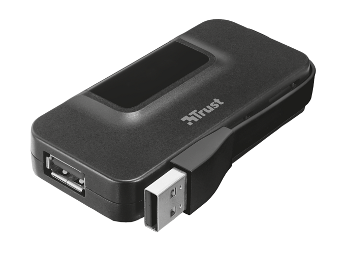 MINI HUB 4 PORTS USB OILA USB 2.0 AUTOALIMENTE tr205772