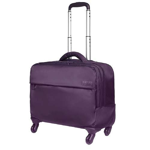 "Trolley Pilot Case 17.4"" Plume Prune 0"