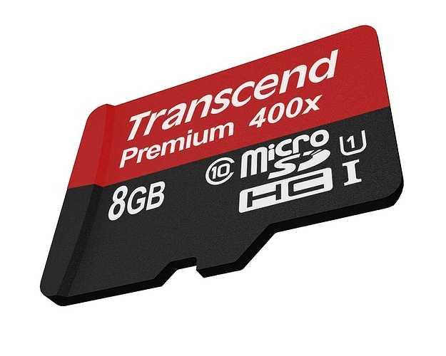 CARTE MEMOIRE MICRO SECURE DIGITAL 8GO CLASS 10 U1UHS-I 400x ts8gusdcu1-3
