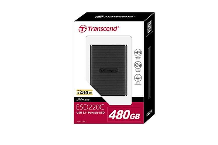 SSD portable - 480 Go SERIE 220C ppesd220pkg