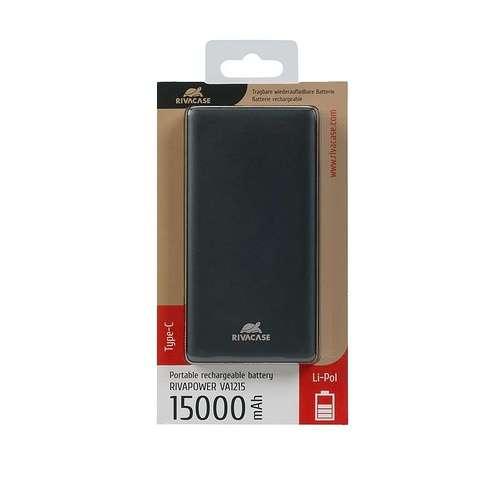 CHARGEUR VA1215 15 000 MAH 2.4A MICRO USB+TYPE C va1215-4