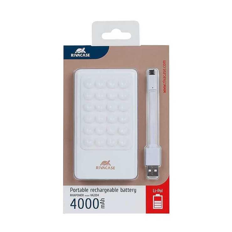 CHARGEUR VA2204 4000 MAH 1A MICRO USB + SUPPORT VENTOUSE va22042