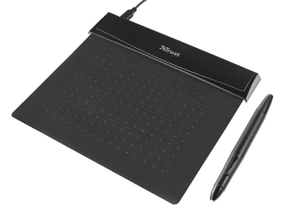 TABLETTE GRAPHIQUE FLEX DESIGN TABLET NOIR 140 × 100 mm 0