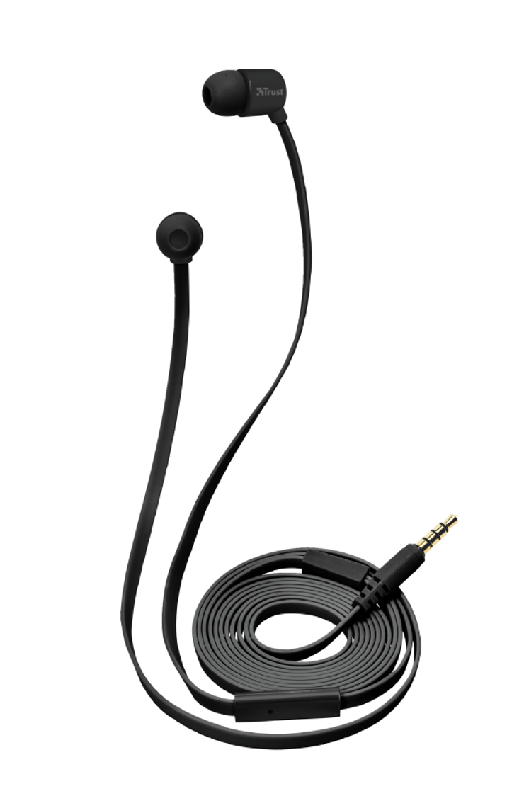 OREILLETTES DUGA FULL BLACK INTRA AURICULAIRE tr221334