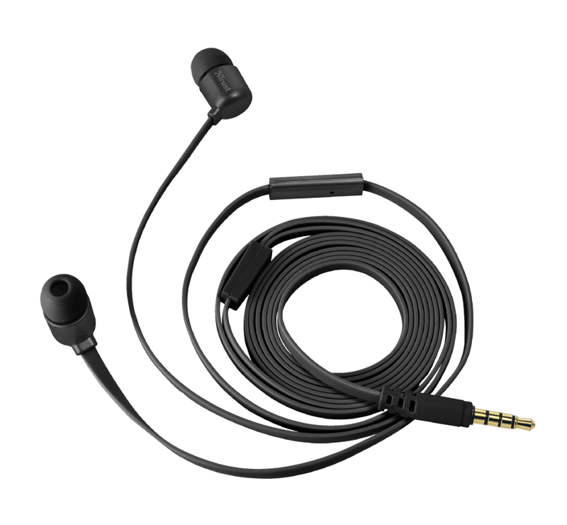 OREILLETTES DUGA FULL BLACK INTRA AURICULAIRE 0
