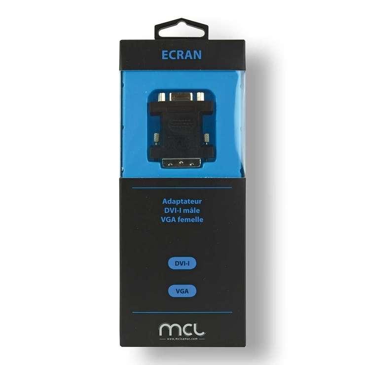 ADAPTATEUR DVI -I MALE / FEMELLE HD15 SOUS BLISTER cg-211zbox