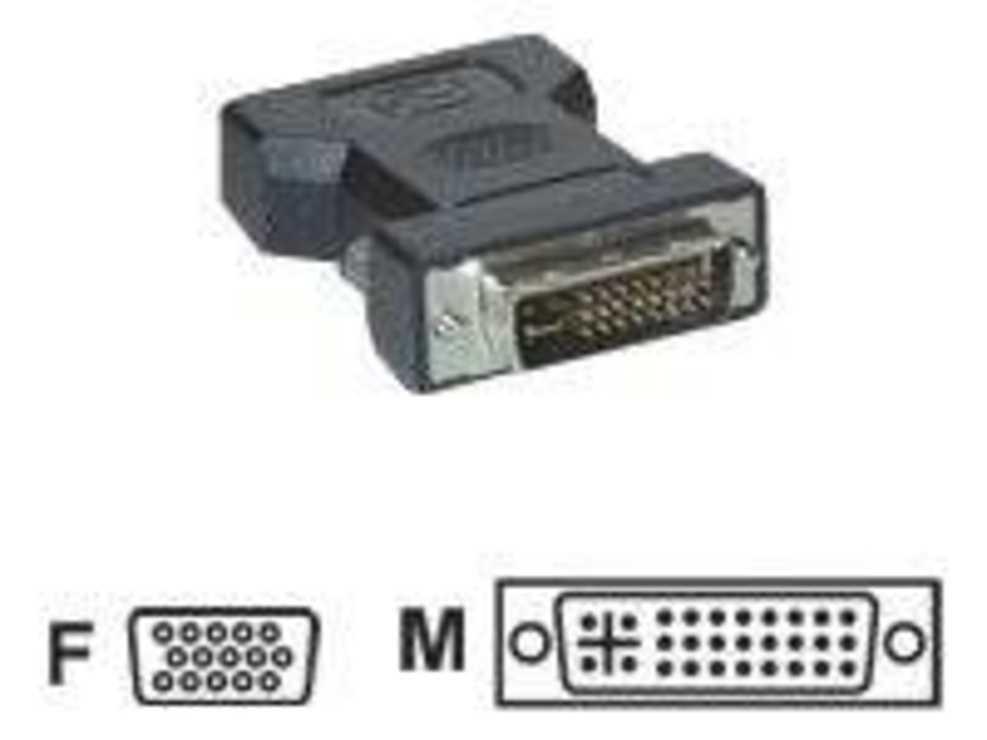 ADAPTATEUR DVI -I MALE / FEMELLE HD15 SOUS BLISTER cg211z-2