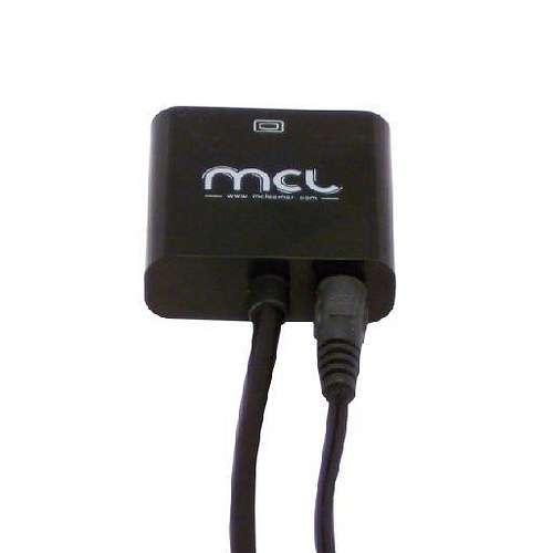 CONVERTISSEUR HDMI VERS VGA AVEC AUDIO 22 CM SOUS BLISTER cg287c2