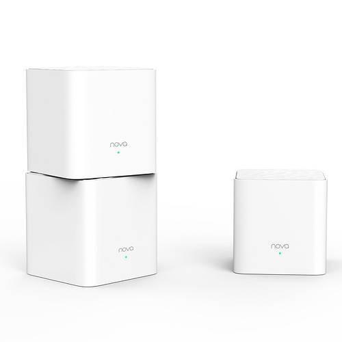 SYSTEME WIFI MESH DE DOMICILE POUR 300 m² max BI-BANDES AVEC 3 BLOCS 0