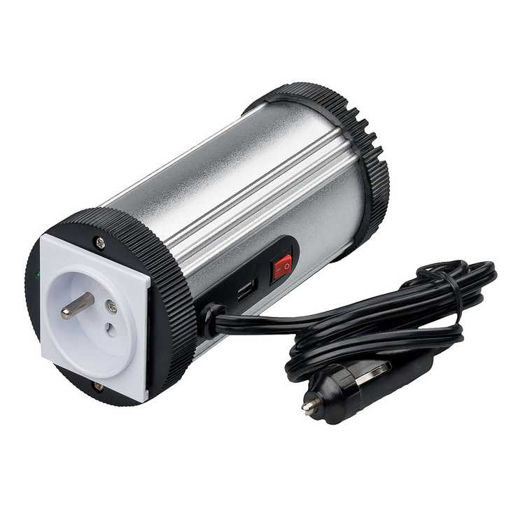 CHARGEUR ALLUME CIGARE 150 W 12V AVEC PORT USB2.1A 0