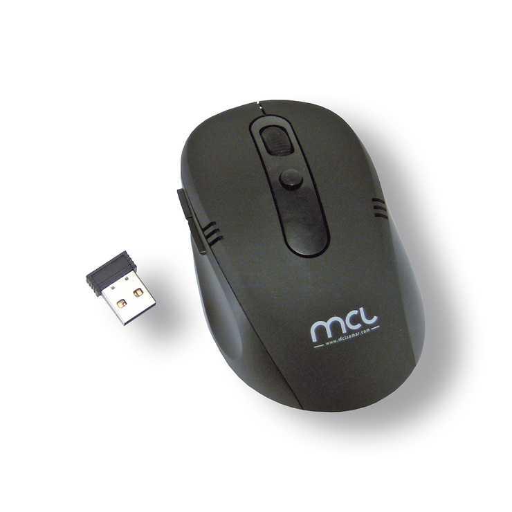 SOURIS SANS FIL OPTIQUE 1600 DPI NOIR USB BLISTER 0