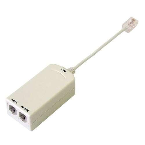 FILTRE ADSL RJ45 MALE VERS 2 X RJ45 0