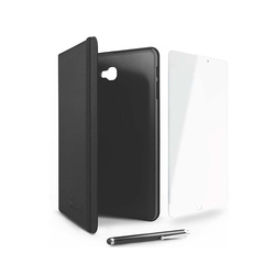 "STARTER KIT : ETUI GALAXY TAB A 10.1""/STYLET/VERRE TREMPE"