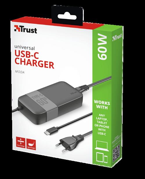 ALIMENTATION SUMMA USB TYPE C 60W/20V PRISE SECTEUR tr214781