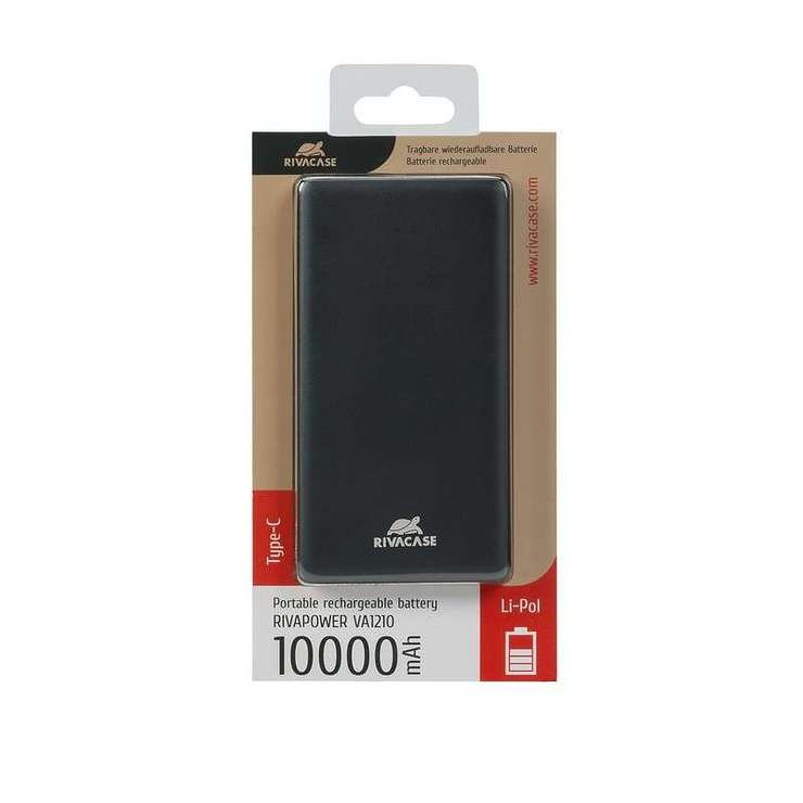 POWERBANK VA1210 10 000 MAH 2.4A MICRO USB+TYPE C va12105
