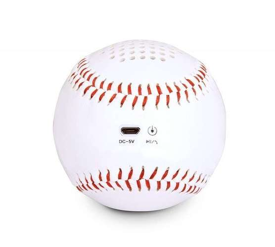 ENCEINTE BLUETOOTH BASEBALL - 3 WATTS mbs10uf3