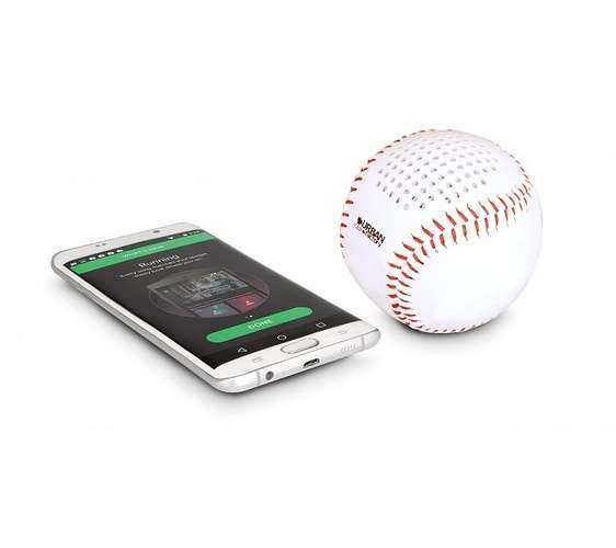 ENCEINTE BLUETOOTH BASEBALL - 3 WATTS 0