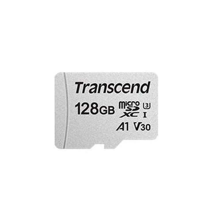 CARTE MEMOIRE MICRO SECURE DIGITAL 128GB + ADAPTATEUR ts128gusd300sa1