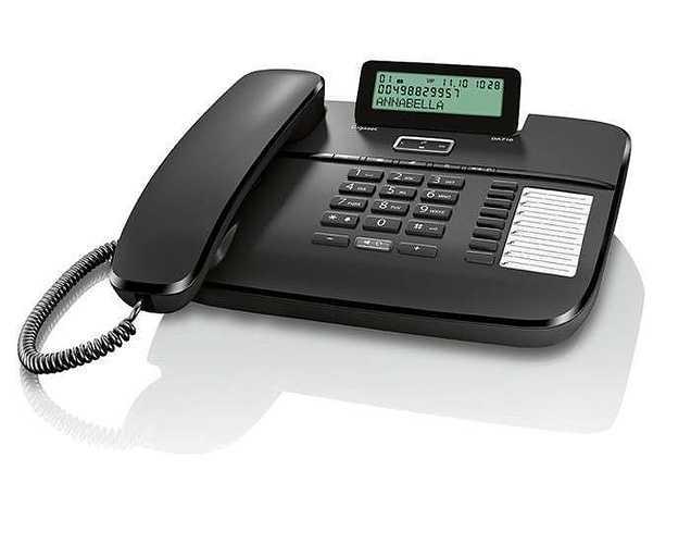 TELEPHONE DA710 FILAIRE MAINS LIBRES gsada710noir2