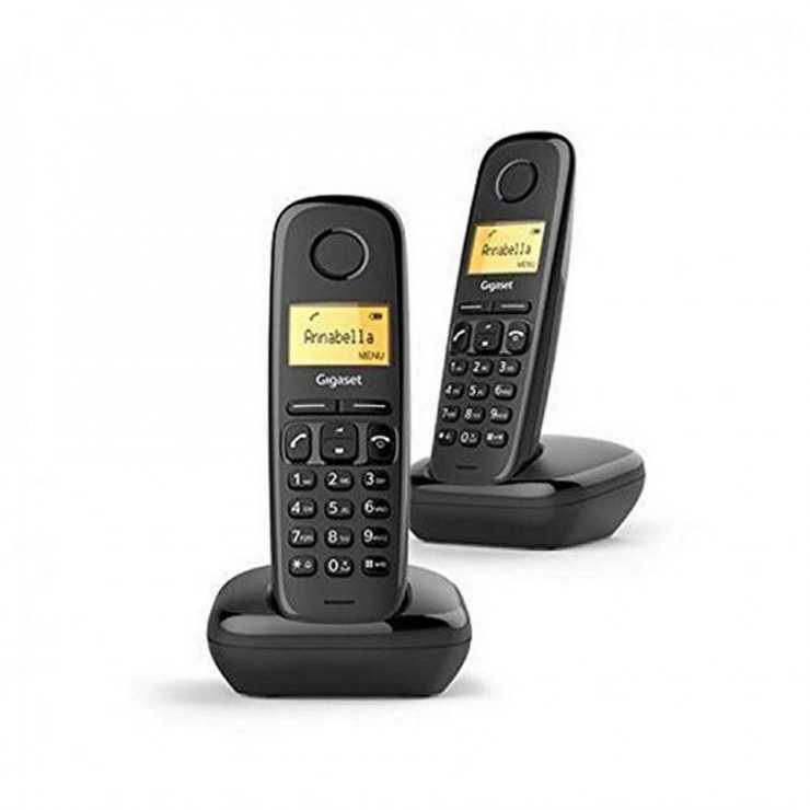 TELEPHONE A170 DUO SANS FIL NOIR 0