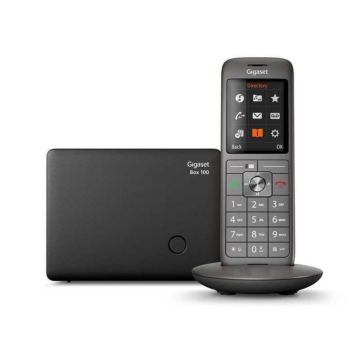 TELEPHONE CL660 SANS FIL NOIR cl660box100fr1