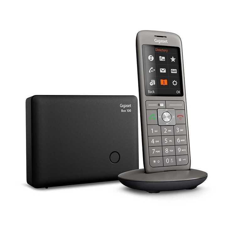 TELEPHONE CL660 SANS FIL NOIR cl660