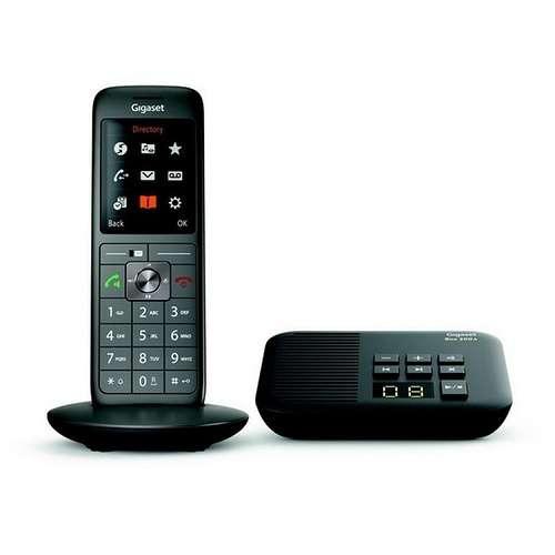 TELEPHONE CL660A AVEC REPONDEUR SANS FIL NOIR 0
