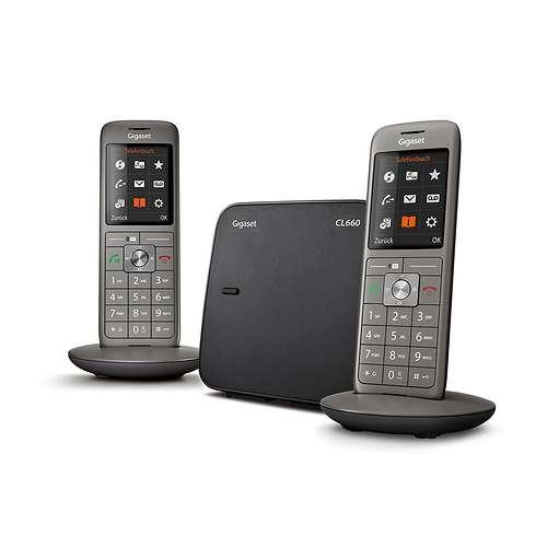 TELEPHONE CL660 DUO SANS FIL NOIR 0