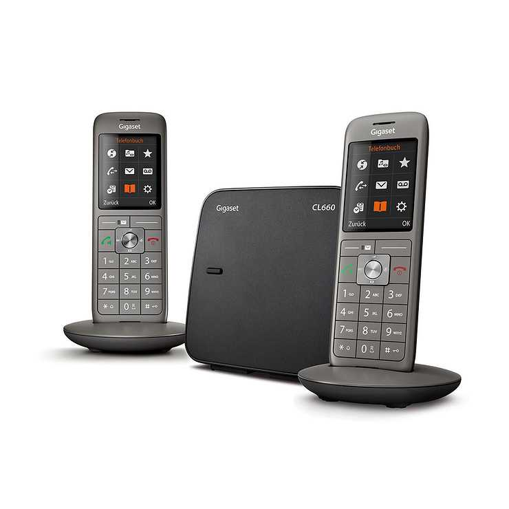 TELEPHONE CL660 DUO SANS FIL NOIR 0