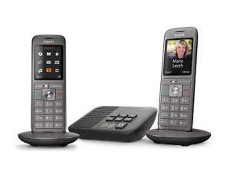 TELEPHONE CL660A DUO AVEC REPONDEUR SANS FIL NOIR gscl660duorepant